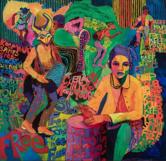 Black Children Keep Your Spirits Free, de Carolyn Lawrence (1972)