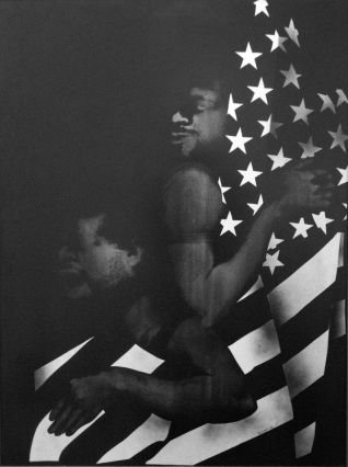 Black First, America Second, de David Hammons (1970)