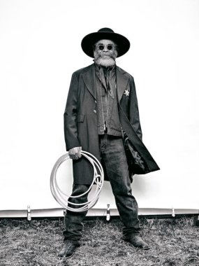 """Brad Trent, """"Ellis 'Mountain Man' Harris from 'The Federation of Black Cowboys'"""" series for The Village Voice"""