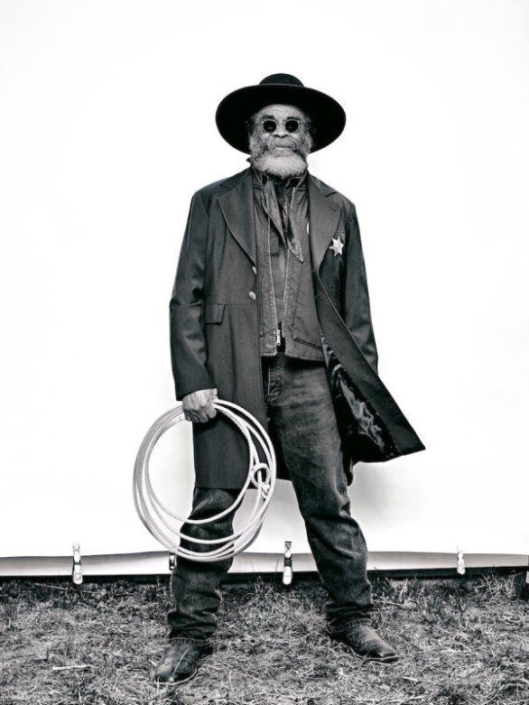 "Brad Trent, ""Ellis 'Mountain Man' Harris from 'The Federation of Black Cowboys'"" series for The Village Voice"