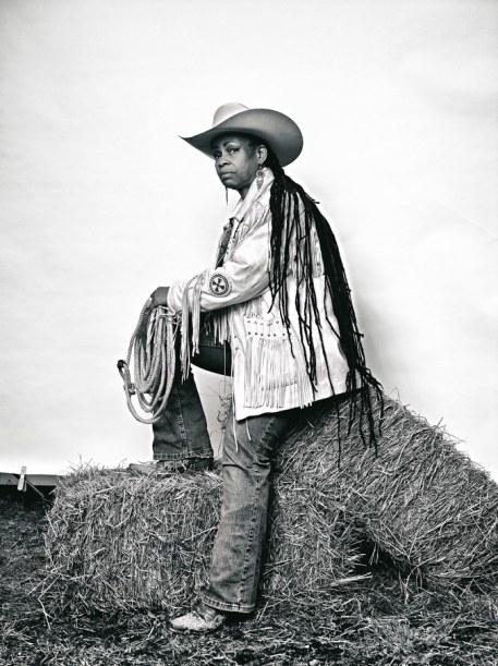 Brad Trent, 'Mama' Kesha Morse from The Federation of Black Cowboys – 2016.