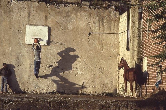 Ron Tarver, The Basketball Game, 1993