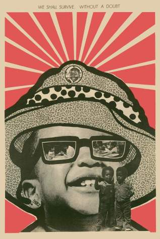 Tapa del diario Black Panther, de Emory Douglas (1971)