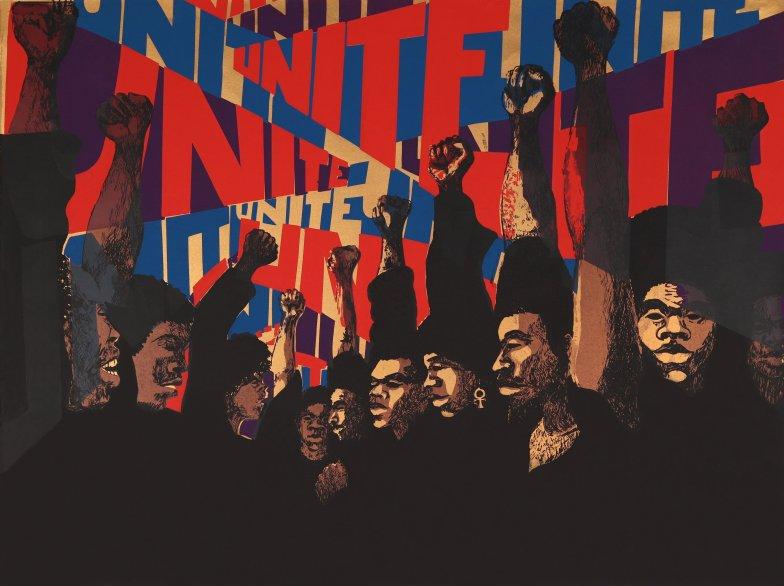Unite (First State), de Barbara Jones-Hogu (1971)