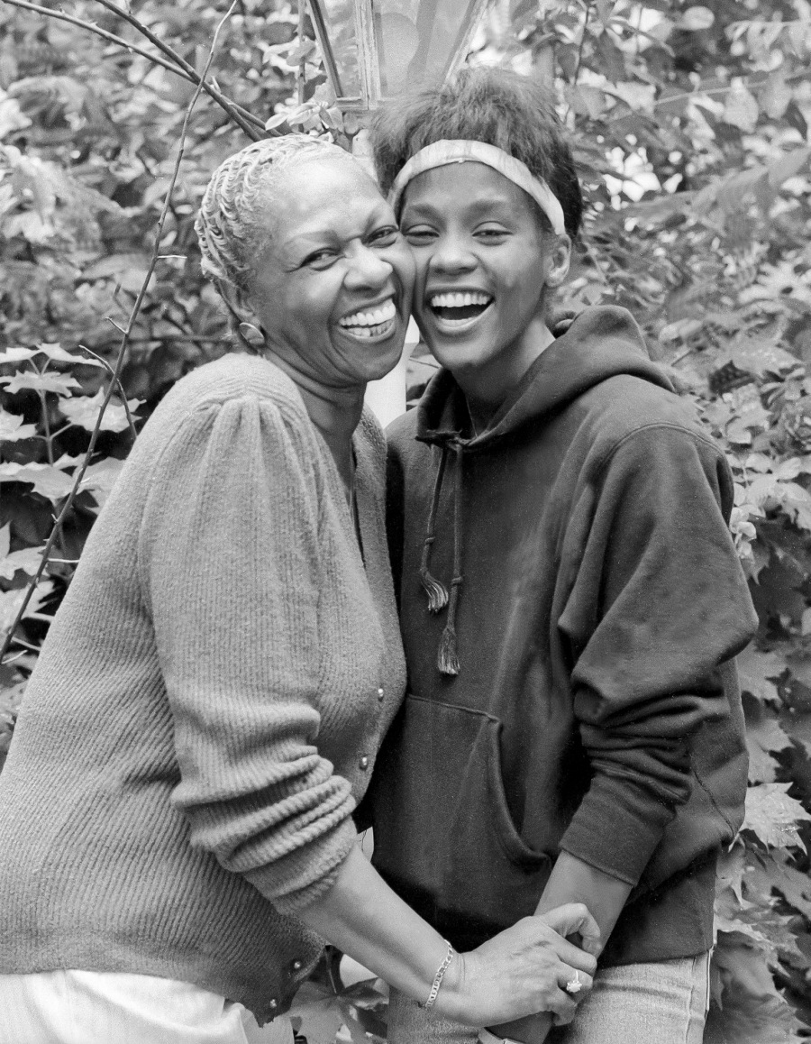 Portrait Of Cissy & Whitney Houston