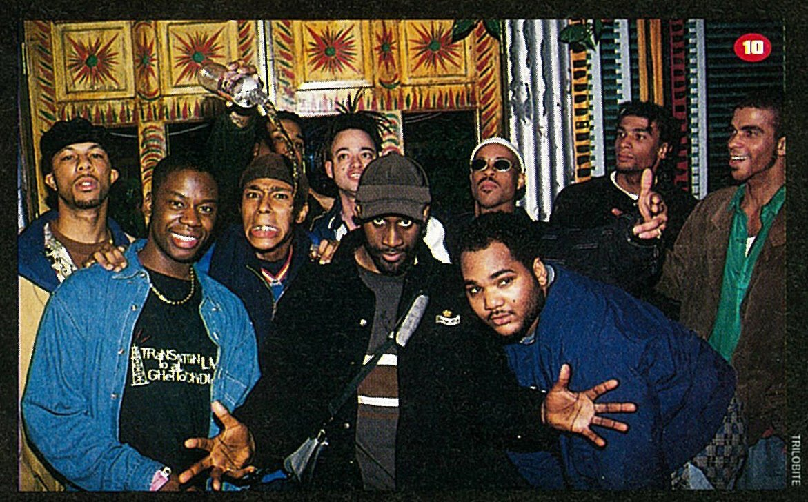 Common, Daryl Mitchell, Mos Def, De La Soul, Kid, Guru, and friends at the House of Blues - Los Angeles, 1996