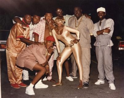 Dapper Dan en Harlem. 80s