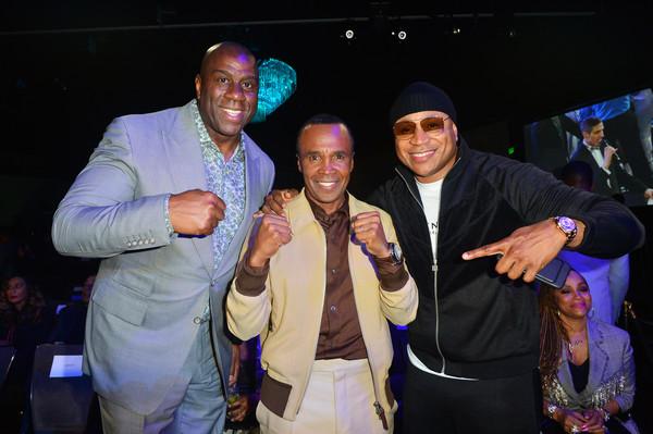 LL Cool J, Magic Johnson & Sugar Ray