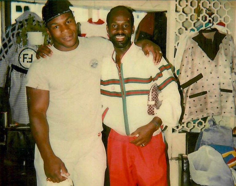 Mike Tyson y Dapper Dan