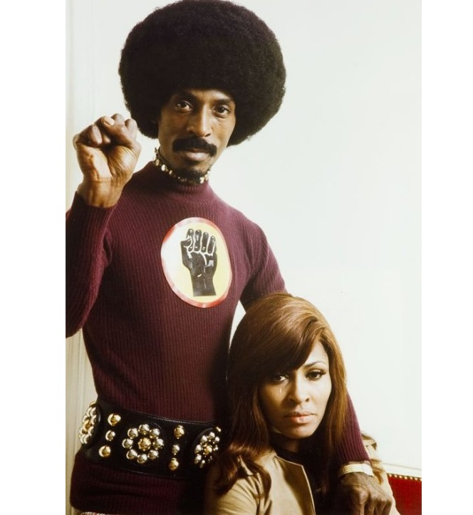 Ike and Tina Turner photographed by Tony Frank, 1971.2