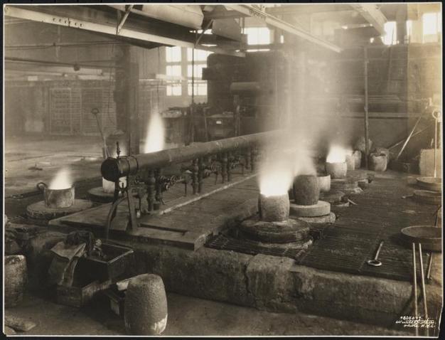 Neptune Meter Company Factory interior