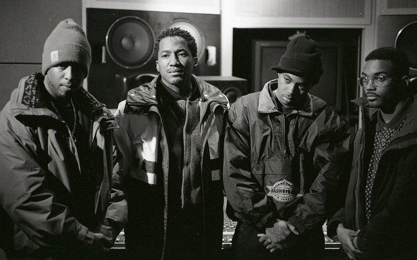 DJ Premier, Q-Tip, Nas, and Large Professor (1994)