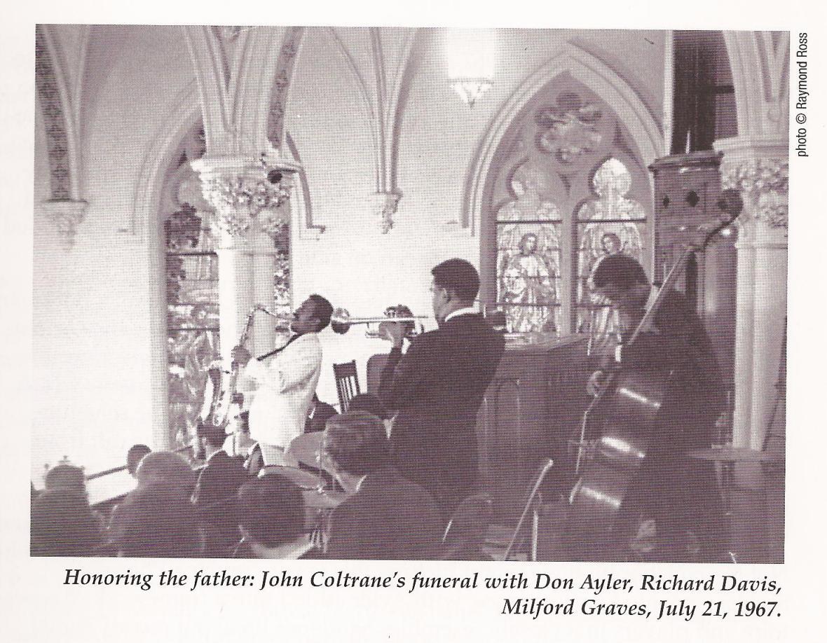 coltrane funeral